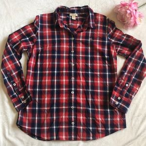 US POLO ASSN   Red and Blue Plaid   Ladi…